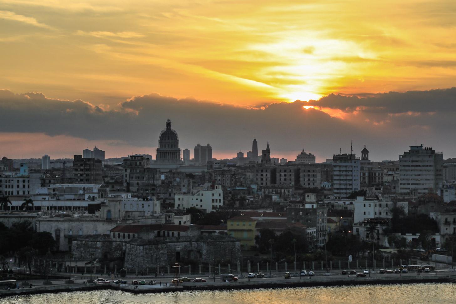 het weer in Havana